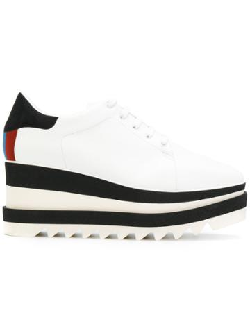 Stella Mccartney Sneak-elyse Platform Sneakers - White