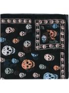 Alexander Mcqueen - Skull Scarf - Women - Silk - One Size, Black, Silk
