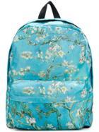 Vans Blossom Print Back Pack - Blue