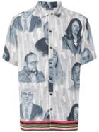 Lanvin Face Print Shirt - Multicolour