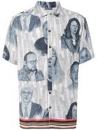 Lanvin Face Print Shirt - Multicolour