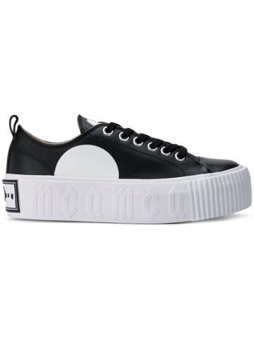 Mcq Alexander Mcqueen Platform Low Top Sneakers - Black