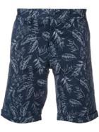 Sun 68 Printed Chino Shorts - Blue
