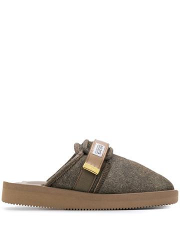 Suicoke Suicoke Og072vhl Brown Furs & Skins->calf Leather