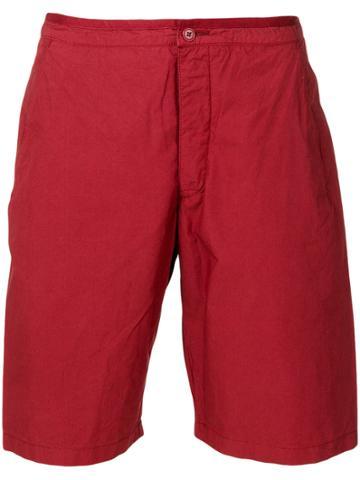 Romeo Gigli Vintage Classic Bermuda Shorts - Red