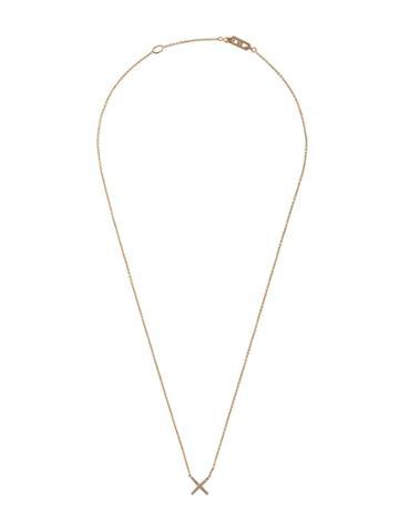 Eva Fehren X Pendant - Tiny - Gold