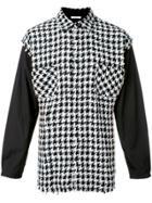 Aganovich Checked Shirt - Black