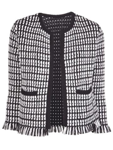 Lucien Pellat Finet Fringed Tweed Jacket