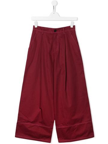 Marni Kids Teen Palazzo Pants - Red