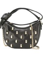 Borbonese Studded Shoulder Bag