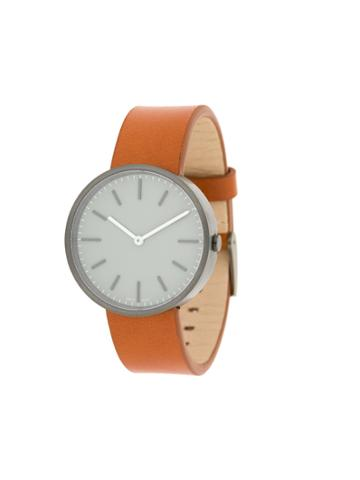 Uniform Wares M37 Two-hand Watch - Brown