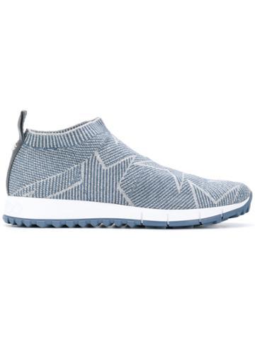 Jimmy Choo Norway Knit Sneakers - Blue