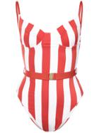 Onia Onia X Weworewhat Danielle Swimsuit - Red