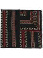 Valentino Tribal Knit Scarf