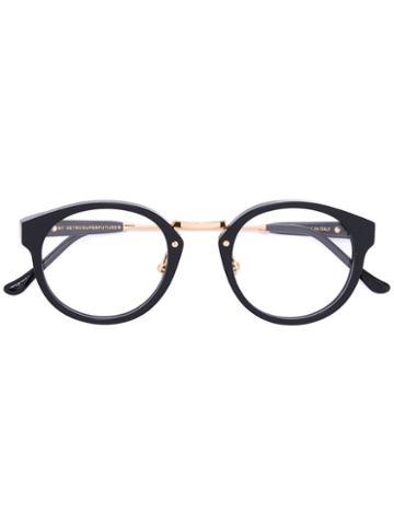 Panama Glasses - Unisex - Acetate/metal - 47, Black, Acetate/metal, Retrosuperfuture