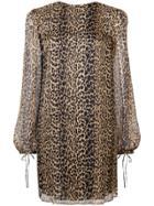 Saint Laurent Saint Laurent 523127y125w Leopard - Brown
