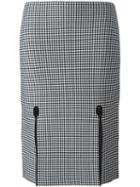 Alexander Wang Houndstooth Pencil Skirt