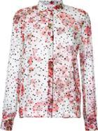 Giamba Floral Print Shirt