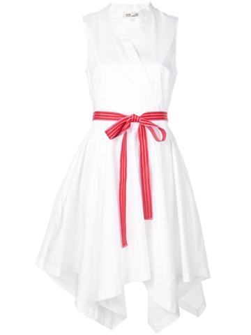 Dvf Diane Von Furstenberg Belted Wrap Dress - Yellow