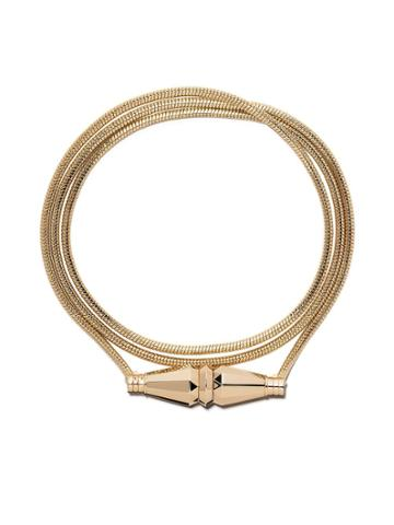 Boucheron 18kt Yellow Gold Jack De Boucheron Triple Wrap Bracelet - Yg
