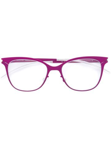 Mykita Gazelle First Glasses, Pink/purple