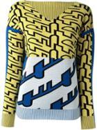 Kenzo Diagonal Stripe Jumper