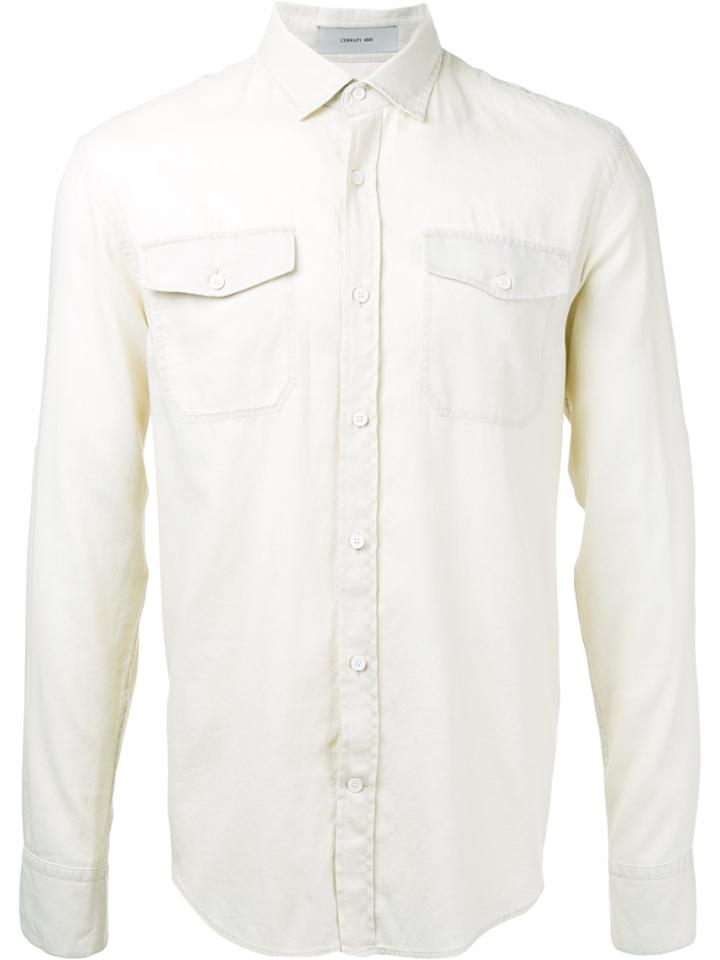 Cerruti 1881 Longsleeve Shirt - Nude & Neutrals