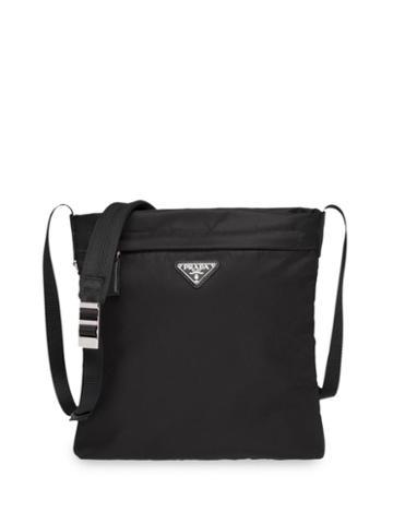 Prada Nylon Bandoleer Bag - Black