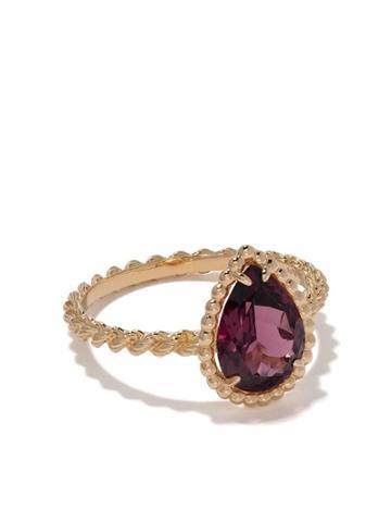 Boucheron Teardrop Stone Ring - Gold