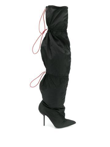 Unravel Project Adjustable Boots - Black