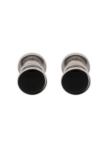 Hackett Glass Detail Cufflinks - Black