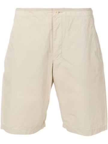 Romeo Gigli Vintage Classic Bermuda Shorts - Nude & Neutrals