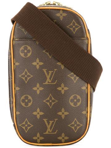 Louis Vuitton Vintage Monograme Gange Crossbody - Brown