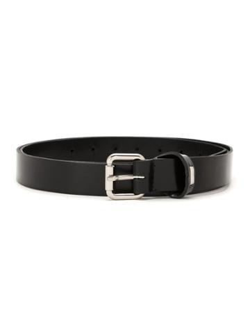 Uma Raquel Davidowicz Scott Leather Belt - Black