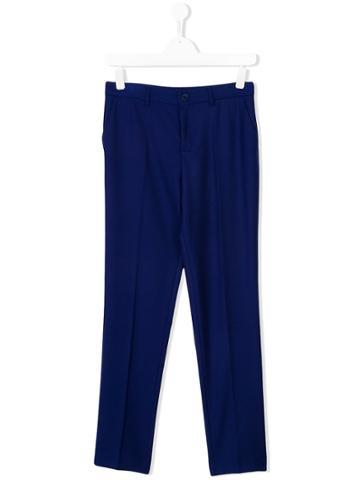 Paul Smith Junior Straight-leg Trousers - Blue