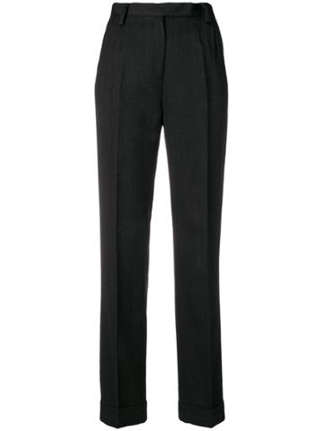 Dolce & Gabbana Vintage High Rise Tailored Trousers - Grey