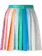 Missoni Pleated Knit Mini Skirt