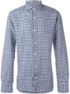 Barba Gingham Effect Shirt