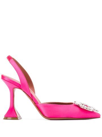 Amina Muaddi Heeled Pumps - Pink