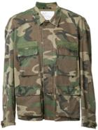 R13 Camouflage Military Jacket - Green