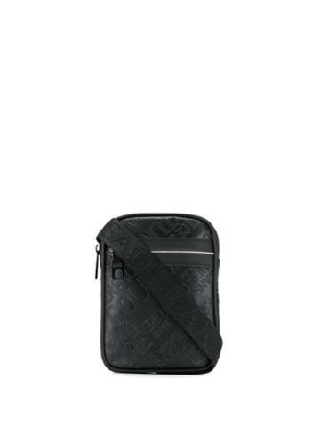 Versace Jeans Couture Logo Messenger Bag - Black