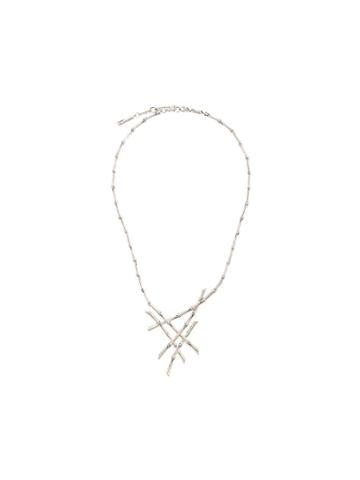 John Hardy Bamboo Necklace - Silver