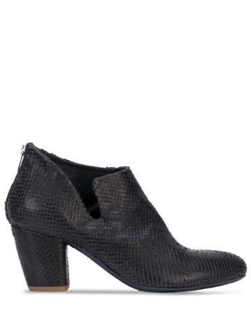 Officine Creative Textured Boots - Blue
