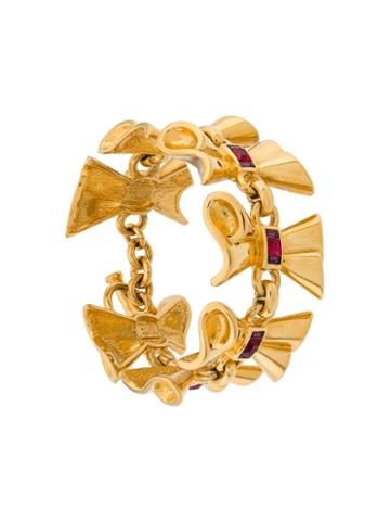 Lanvin Pre-owned 1970's Haute Couture Bracelet - Gold