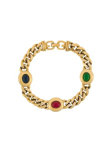 Susan Caplan Vintage 1980s Chain Link Bracelet - Gold