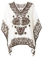 P.a.r.o.s.h. Embroidered Tunic - White