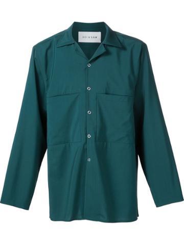 Agi & Sam 'work' Button Down Shirt