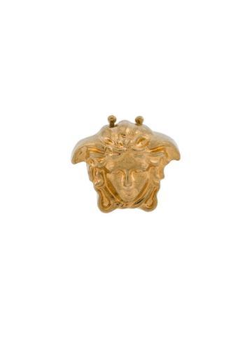 Versace Medusa Cufflinks - Gold