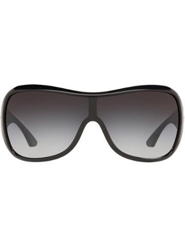 Sarah Jessica Parker X Sunglass Hut Oversized Round Sunglasses - Black