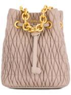 Furla Stacy Cometa Mini Bucket Bag - Pink